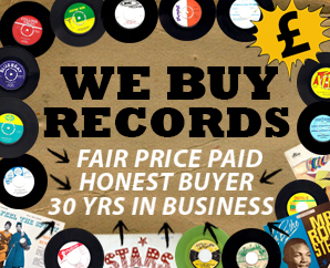 We Buy Records static banner