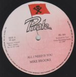 ALL I NEED IS YOU - Mike Brooks