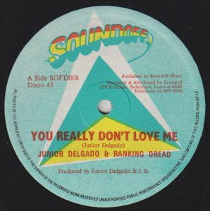 YOU REALLY DON'T LOVE ME - Junior Delgado & Ranking Dread