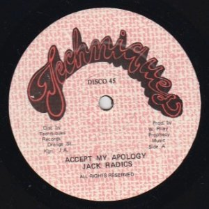 ACCEPT MY APOLOGY - Jack Radics