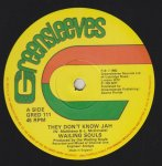 THEY DON'T KNOW JAH - Wailing Souls