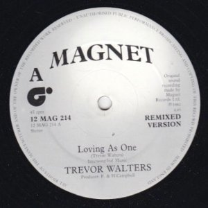LOVING AS ONE - Trevor Walters