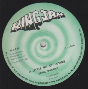 A LITTLE BIT OF LOVING - Errol Dunkley