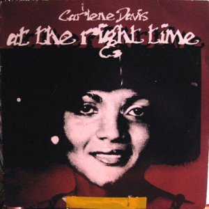 AT THE RIGHT TIME - CARLENE DAVIS