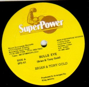 BULLS EYE - Brian & Tony Gold
