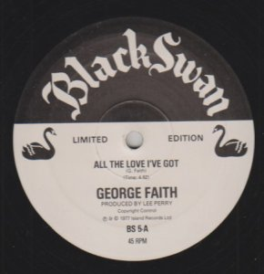 ALL THE LOVE I GOT - George Faith