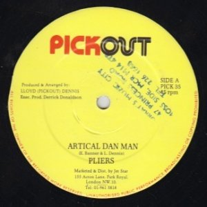 ARTICAL DAN MAN - Pliers