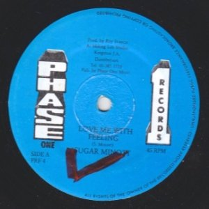 LOVE ME WITH FEELING - Sugar Minott