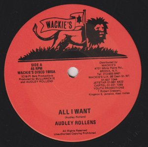 ALL I WANT - Audley Rollens