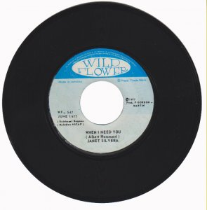 WHEN I NEED YOU - Janet Silvera