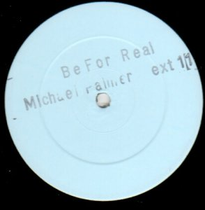 BE FOR REAL - Michael Palmer