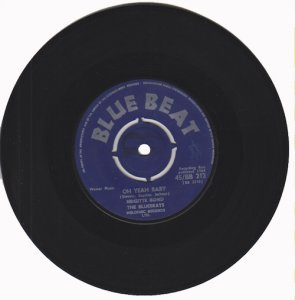 BLUE BEAT BABY - Brigitte Bond, The Bluebeats