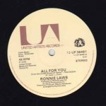 ALL FOR YOU - Ronnie Laws
