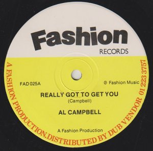 REALLY GOT TO GET YOU - Al Campbell