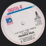 I'VE GOT THE VIBES - Frankie Paul