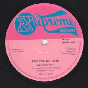 KISS YOU ALL OVER - Samantha Rose