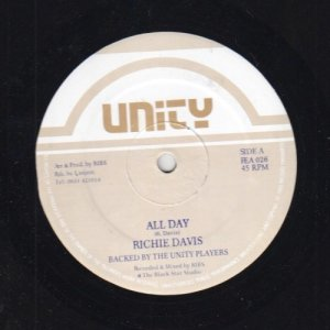 ALL DAY - Richie Davis