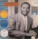 EARLY DETROIT R&B - T.J.Fowler And His Band