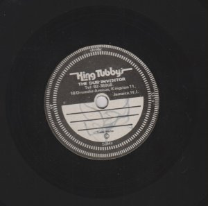 HAVE FI RUN (vocal - unknown ?) ORIGINAL 10' DUB PLATE 45 RPM
