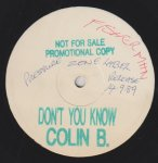 DON'T YOU KNOW - Colin B