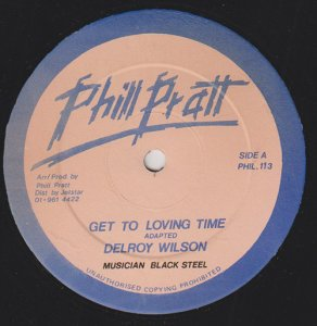 GET TO LOVING TIME - Delroy Wilson