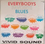 EVERYBODYS FAVORATE BLUES - Various Artists