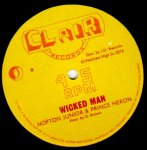 WICKED MAN - Hopton Junior & Prince Heron