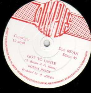 GOT TO UNITE - Donna Hinds