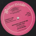 NOTHING CAN STOP ME LOVING YOU - Joyce Bond