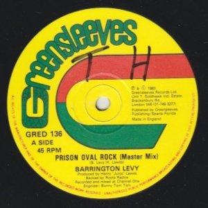 PRISON OVAL ROCK (MASTER MIX) - Barrington Levy
