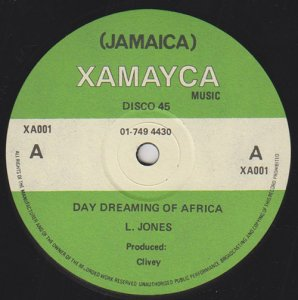 DAY DREAMING OF AFRICA - L.Jones