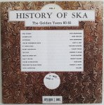 HISTORY OF SKA VOL.1 - Various Artists (Blue Rosette)