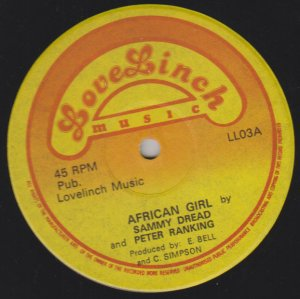 AFRICAN GIRL - Sammy Dread & Peter Ranking