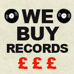 We Buy Records left menu