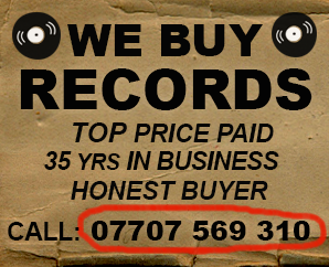 static banner We Buy Records